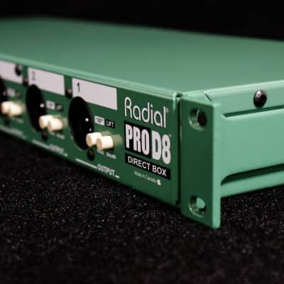 Radial ProD8 8-CH Passive Direct Box