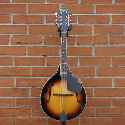 Washburn M1 A-Style Sunburst Mandolin Pack; Gig Bag; Pitch Pipe; Strap