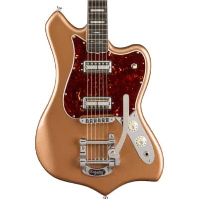Fender Parallel Universe Volume II Maverick Dorado Ebony Fingerboard Firemist Gold Electric Guitar for sale