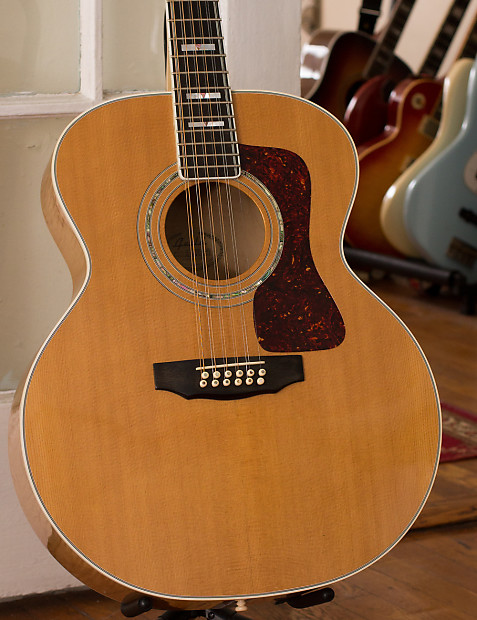 1996 guild jf65 12 12 string acoustic guitar reverb