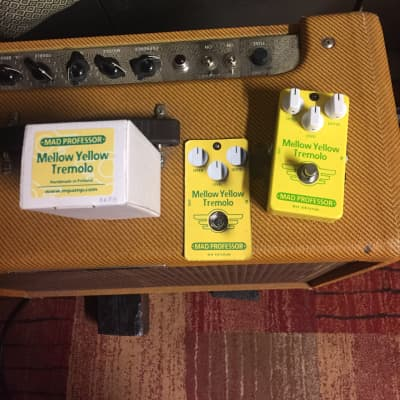 Mad Professor Mellow Yellow Tremolo (Hand-Wired) for sale
