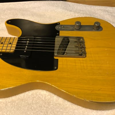 Coop '52 T-Style Butterscotch Blonde Relic USED for sale
