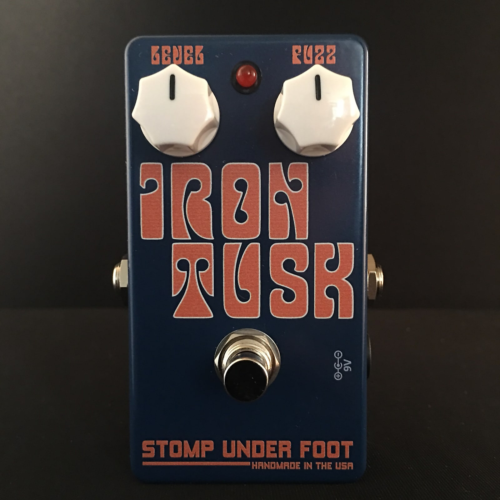 Stomp Under Foot Iron Tusk Fuzz BCR Limited Run Authorized Dealer Exclusive Free Shipping!