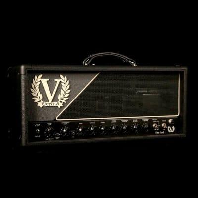 Victory V50 The Earl 50-Watt Amplifier Head Black