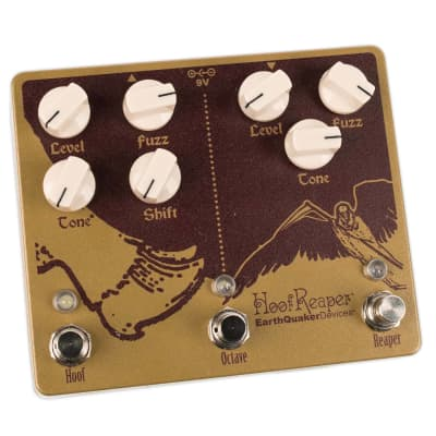 EARTHQUAKER DEVICES HOOF REAPER V2 OCTAVE FUZZ SPECTACULAR V2 for sale