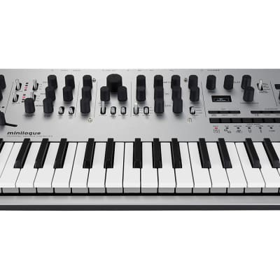 Korg - Minilogue 4-Voice Polyphonic Analog Synth with Presets