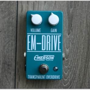 FREE shipping! Emerson Custom Em-Drive Transparent Overdrive