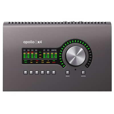 Universal Audio Apollo x4 QUAD Thunderbolt 3 Audio Interface
