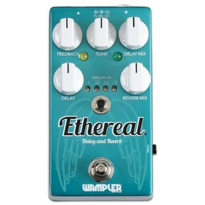 Wampler Ethereal Reverb and Delay Effects Pedal (Used/Mint)