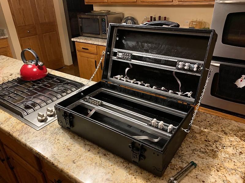 DIY 14U Custom Carry-on Capable Eurorack Modular Case