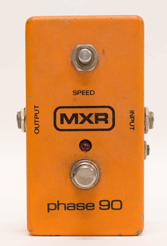 mxr block logo phase 90 guitar effect fx pedal phase