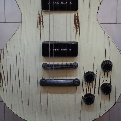 Spear P90 LP, Distressed White for sale
