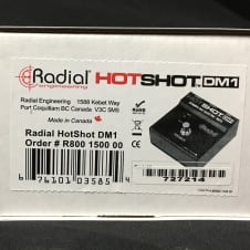 New Radial Engineering HotShot DM1 Dynamic Mic Toggle w/ Free Cable, Winder & Pics