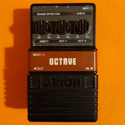 Arion MOC-1 Octave made in Japan - Boss OC-2 clone for sale