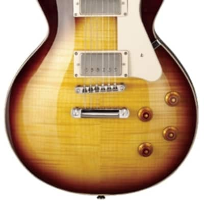 Cort CR250VB Classic Rock Series Arched Flamed Maple Top Mahogany Neck 6-String Electric Guitar