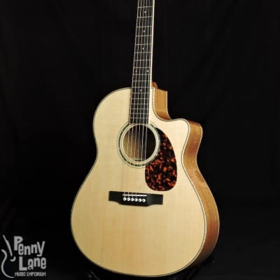 Larrivee LV-05 Mahogany Acoustic Cutaway Guitar With Case for sale