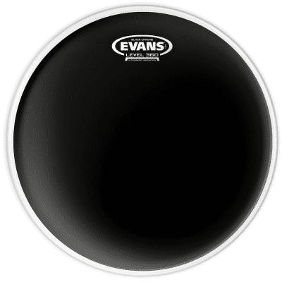 "Evans TT08CHR Black Chrome Drum Head - 8"""