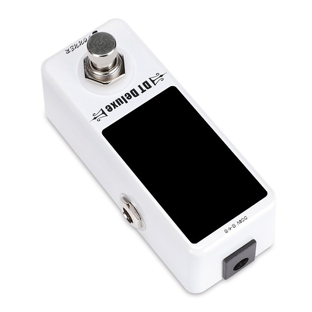 Donner DT Deluxe Guitar Chromatic Tuner Pedal /± 1 Cent