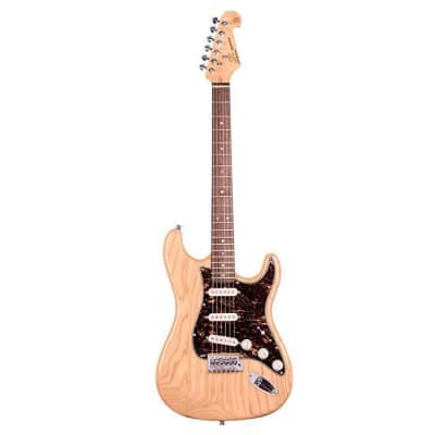 SX Ash Series Electric Guitar - Natural Gloss for sale