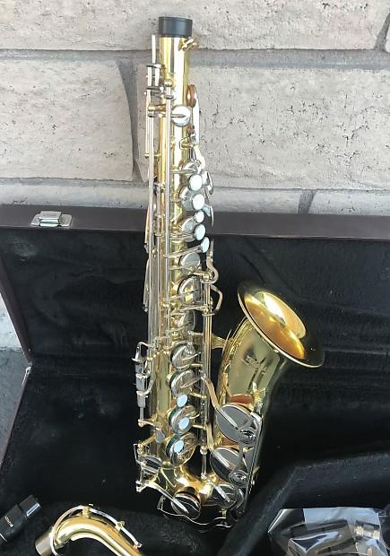 437b3934de Yamaha Alto Saxophone Sax YAS-23 w  Case   Accessories -