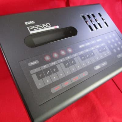 KORG PSS60 80's Programmable accompaniment machine w/ Pattern card x2 PSU