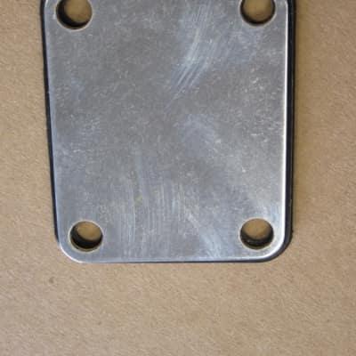 1975 Fender 4-bolt Neck plate w/Rubber Frame