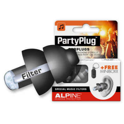 Alpine PartyPlug Event Acoustis Filters Volume Reducer Hearing Protection