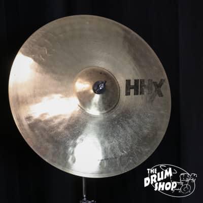 "Used Sabian HHX Stage Ride 20"" Brilliant (video demo)"
