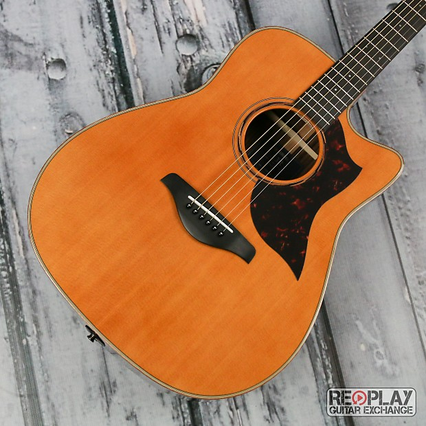 yamaha a3r acoustic electric guitar natural reverb. Black Bedroom Furniture Sets. Home Design Ideas