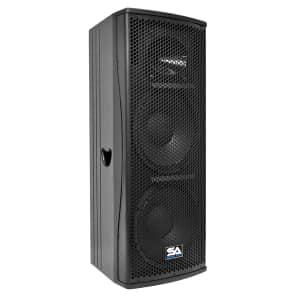 "Seismic Audio Magma-212 Passive 2x12"" Full-Range 2-Way 600w Speaker"