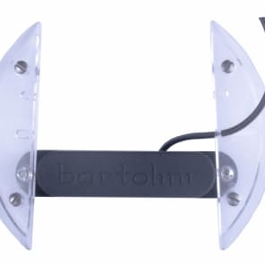NEW Bartolini 3AV Acoustic Guitar Pickup with Soundhole Mount & Cable, Humbucker