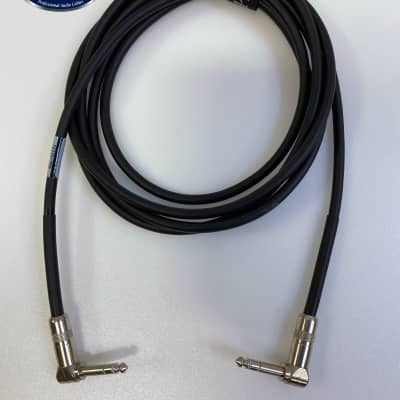 Best-Tronics Pro Audio Right Angle TRS cable - 10ft long