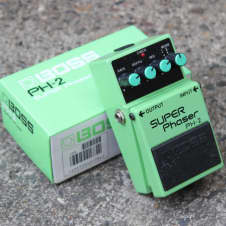 1991 Boss PH-2 Super Phaser Vintage Effects Pedal w/Box