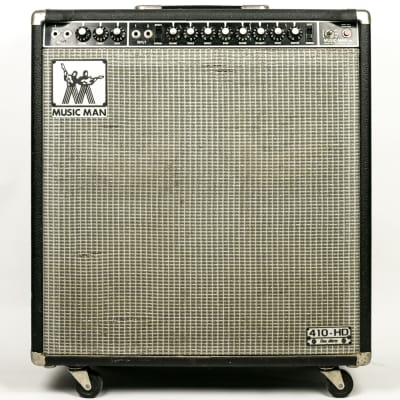 "Music Man 410-HD One Thirty 2-Channel 130-Watt 4x10"" Guitar Combo 1974 - 1979"