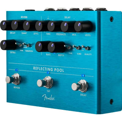 Fender Reflecting Pool Delay/Reverb Pedal for sale