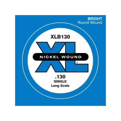 D'Addario Nickel Wound Single Bass String XLB130