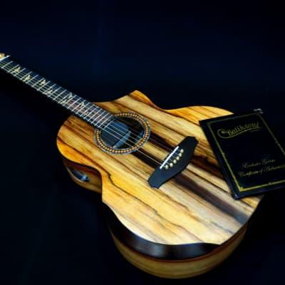 Exclusive Grand Concert Bee Hive #4 ( Batiksoul Guitars ) for sale
