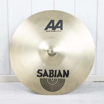 Sabian AA Rock Crash 16''