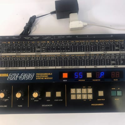 Vintage 1984 Korg EX-800 EX800 Programmable Polyphonic Synthesizer Module