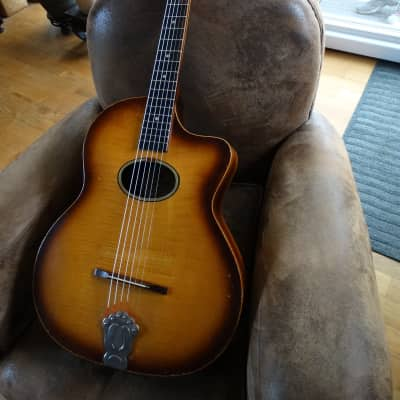 Guitare Jazz Manouche Luthier Miller Mirecourt années1950/60 for sale