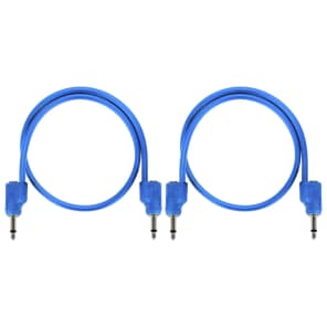 Tiptop Audio 70cm Blue Stackable Stackcables Bundle