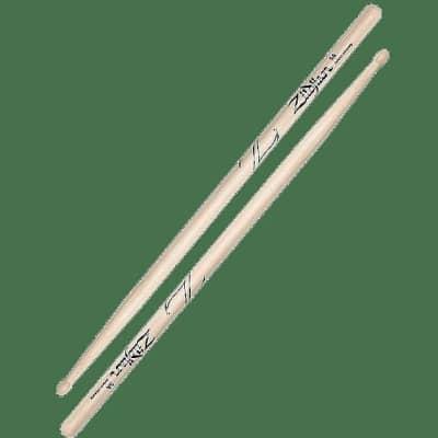Zildjian Z5A 5A Oval Wood Tip (Pair) Drum Sticks
