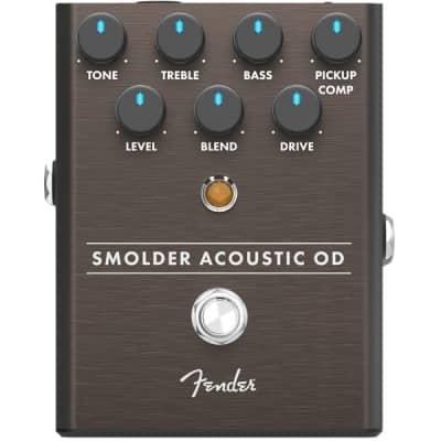 Fender Smoulder Acoustic Overdrive Pedal for sale