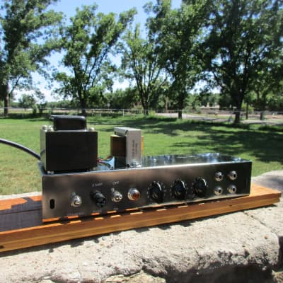 Carl's Custom Amps 5E3 Classic Tweed Deluxe Working Chassis Video Demo for sale