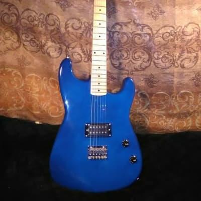 Davison 6 string electric 2019 Cobalt Blue for sale