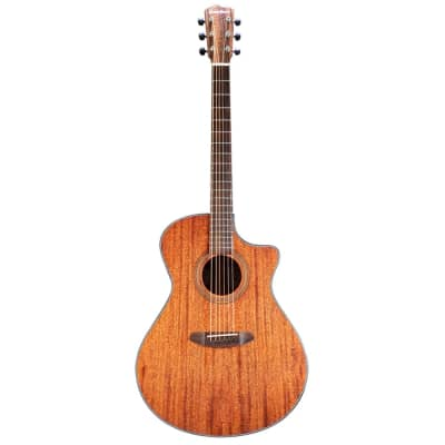 Breedlove Wildwood Concerto Satin CE African Mahogany-African Mahogany, Acoustic-Electric