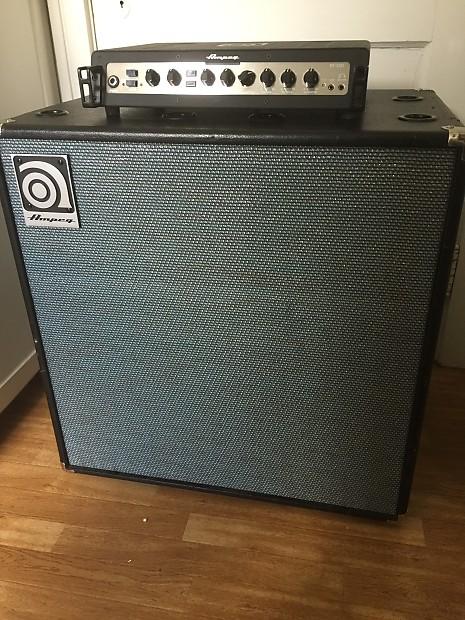Ampeg Portaflex Pf500 And Svt 212av Bass Cabinet Combo