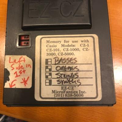 EZ-CZ four bank Memory cartridge for Casio CZ-1, CZ-101, CZ-1000, CZ-3000 & CZ-5000 synthesizers