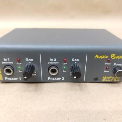 Midiman Audio Buddy 2 Dual Channel Mic Preamp and DI Direct Box