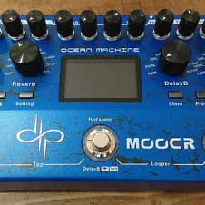 Mooer Ocean Machine Devin Townsend Signature  Guitar Effects Pedal 2017 Blue
